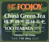 Foojoy Chinese Green Tea - 100 bags